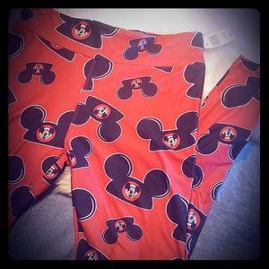 Disney 'Mickey Ears' Leggings Women's Size M